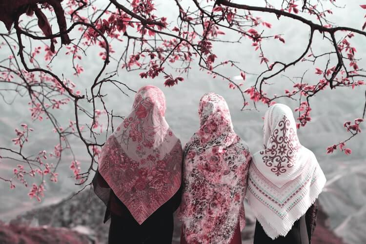 tenue de priere femme