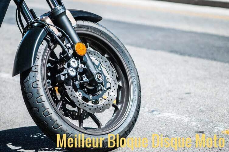 Meilleur bloc disque moto avec alarme